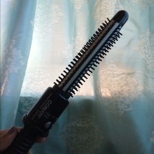 Conair instant heat brush curling wand